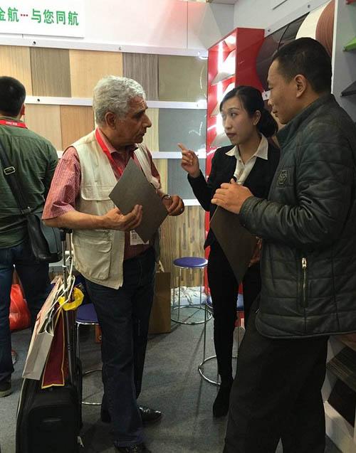 li豪娱乐网站防火板展销会